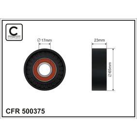 Spannrolle, Keilrippenriemen Breite: 23mm mit OEM-Nummer 31316674