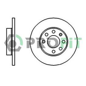 PROFIT Disco de travão 5010-0116 com códigos OEM 569030