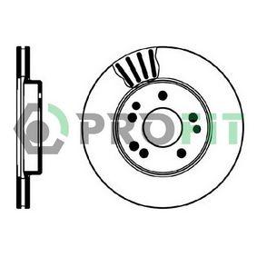 Bremsscheibe Bremsscheibendicke: 22mm, Lochanzahl: 5, Ø: 284mm mit OEM-Nummer 124 421 16 12