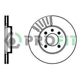 Bremsscheibe Bremsscheibendicke: 20mm, Lochanzahl: 4, Ø: 256mm mit OEM-Nummer 3216-1530-1D