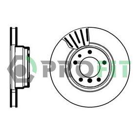 Bremsscheibe Bremsscheibendicke: 28mm, Lochanzahl: 5, Ø: 316mm, Ø: 316mm mit OEM-Nummer 34 111 162 093