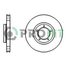 Bremsscheibe Bremsscheibendicke: 24mm, Lochanzahl: 5, Ø: 254mm mit OEM-Nummer 5025610