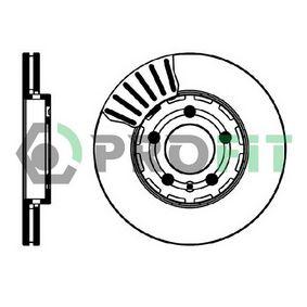 Bremsscheibe Bremsscheibendicke: 22mm, Lochanzahl: 5, Ø: 256mm mit OEM-Nummer 1J0615301L