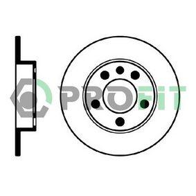 Bremsscheibe Bremsscheibendicke: 9mm, Lochanzahl: 5, Ø: 232mm, Ø: 232mm mit OEM-Nummer 1J0615601P