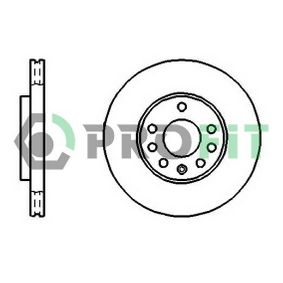 PROFIT Disc frana 5010-1042 cu OEM Numar 9117678