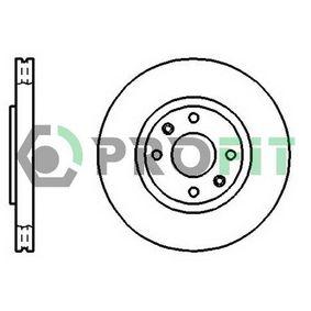Bremsscheibe Bremsscheibendicke: 26mm, Lochanzahl: 4, Ø: 283mm mit OEM-Nummer 4246-W2
