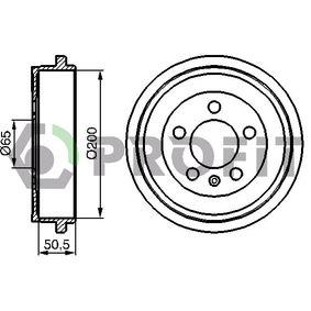 Bremstrommel Trommel-Ø: 200mm mit OEM-Nummer 6Q0609617