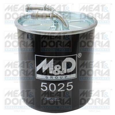 MEAT & DORIA  5025 Fuel filter Height: 125mm