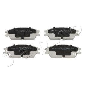 Bremsbelagsatz, Scheibenbremse Höhe: 48,7mm, Dicke/Stärke: 15mm mit OEM-Nummer 58101 29A80