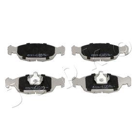 Комплект спирачно феродо, дискови спирачки 50390 Corsa B Хечбек (S93) 1.5 TD (F08, F68, M68) Г.П. 1994