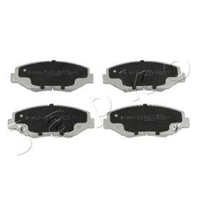 2006 Honda Accord CL7 2.4 Brake Pad Set, disc brake 50401