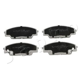 Brake Pad Set, disc brake Height: 52,2mm, Thickness: 15,6mm with OEM Number 45022-S2A-E50