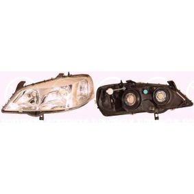 Hauptscheinwerfer für Fahrzeuge mit Leuchtweiteregelung mit OEM-Nummer 1216156