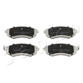Bremsbelagsatz, Scheibenbremse Höhe: 54mm, Dicke/Stärke: 17mm mit OEM-Nummer 58101-29A80