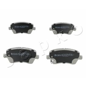 Brake Pad Set, disc brake Height: 52,5mm, Thickness: 16,8mm with OEM Number 55810-62J31