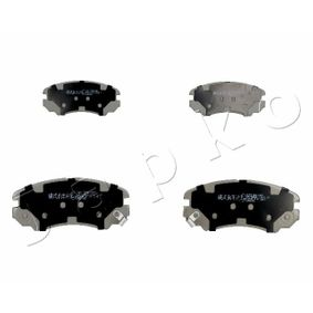 Bremsbelagsatz, Scheibenbremse Höhe: 59,9mm, Dicke/Stärke: 17,3mm mit OEM-Nummer 58101-3CA20