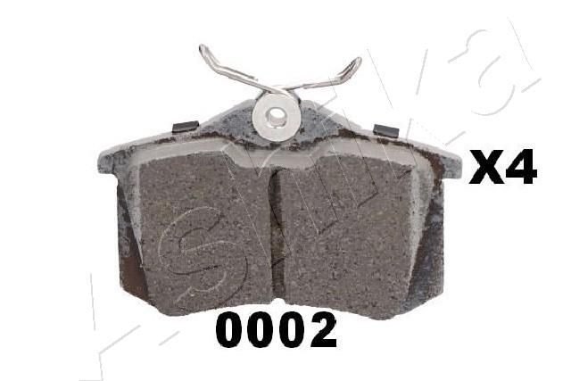 Bremsbelagsatz ASHIKA 51-00-00002 Bewertung