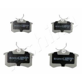 Jogo de pastilhas para travão de disco Largura: 53mm, Espessura: 15mm com códigos OEM 8E0698451K