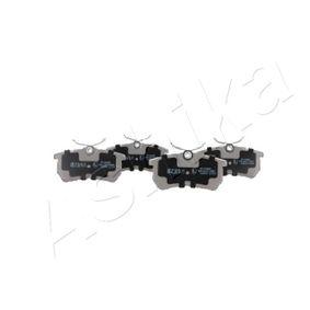Bremsbelagsatz, Scheibenbremse Breite: 42,6mm, Dicke/Stärke: 14,7mm mit OEM-Nummer 98AX2M0-08BA