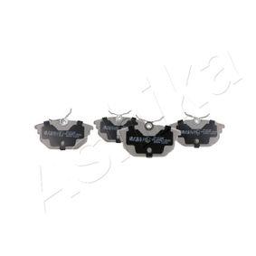 Kit pastiglie freno, Freno a disco Largh.: 44,5mm, Spessore 1: 14,3mm, Spessore 2: 14,7mm con OEM Numero 6001073218