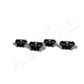 Brake Pad Set, disc brake 51-00-00014 A-Class (W169) A 170 1.7 (169.032, 169.332) MY 2012