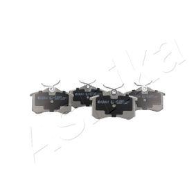 ASHIKA Jogo de pastilhas para travão de disco 51-00-00018 com códigos OEM 425232
