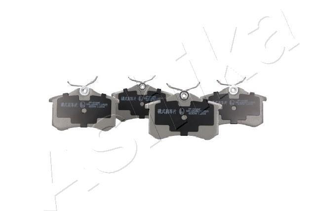 Pastilhas de Travão 51-00-00018 ASHIKA 51-00-00018 de qualidade original