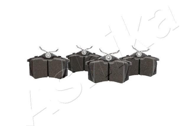 Jogo de Pastilhas de Travão ASHIKA 51-00-00018 classificação