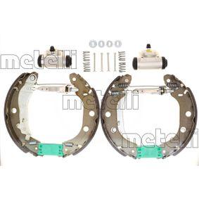 Bremsbackensatz Breite: 42mm mit OEM-Nummer 77 01 205 520
