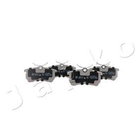 Brake Pad Set, disc brake 510005 FIESTA 6 1.6 ST MY 2020