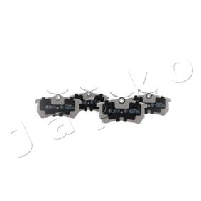 Brake Pad Set, disc brake Width: 42,6mm, Thickness: 14,7mm with OEM Number 1 107 698