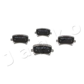 Bremsbelagsatz, Scheibenbremse Breite: 55,5mm, Dicke/Stärke: 16,9mm mit OEM-Nummer 4F0698451D