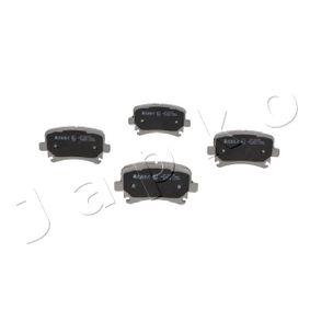 Bremsbelagsatz, Scheibenbremse Breite: 55,5mm, Dicke/Stärke: 16,9mm mit OEM-Nummer 3C0698451C