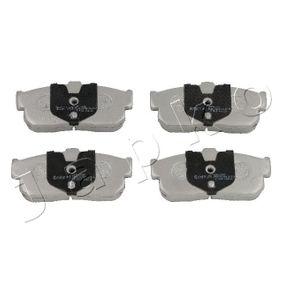 Bremsbelagsatz, Scheibenbremse Höhe: 47,2mm, Dicke/Stärke: 16,2mm mit OEM-Nummer 44060-4U090