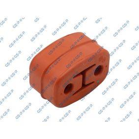 Halter, Abgasanlage mit OEM-Nummer 4F0253147D