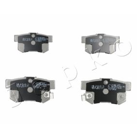 Brake Pad Set, disc brake Height: 47,2mm, Thickness: 14mm with OEM Number 06430-S9A-A00