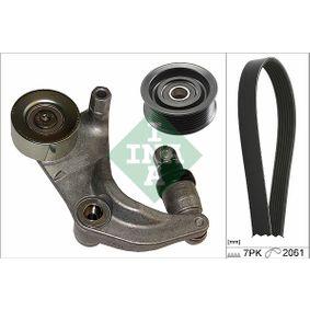 INA  529 0152 10 V-Ribbed Belt Set Length: 2061mm, Number of ribs: 7