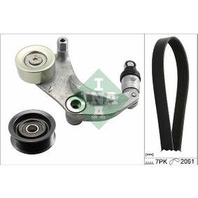 V-Ribbed Belt Set 529 0153 10 CIVIC 8 Hatchback (FN, FK) 1.8 (FN1, FK2) MY 2018