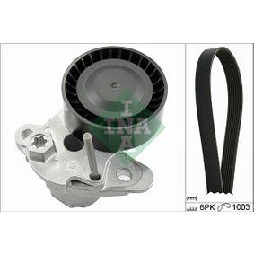 Polo 6R 1.2TSI 16V Keilrippenriemensatz INA 529 0159 10 (1.2TSI 16V Benzin 2021 CJZC)