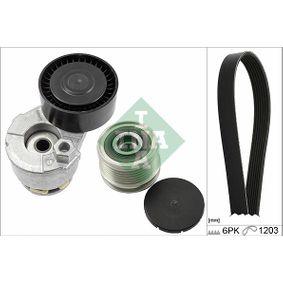 V-Ribbed Belt Set 529 0224 10 Note (E11, NE11) 1.5 dCi MY 2012