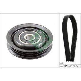 V-Ribbed Belt Set 529 0227 10 Note (E11, NE11) 1.4 MY 2012