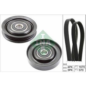 V-Ribbed Belt Set 529 0228 10 Note (E11, NE11) 1.4 MY 2011