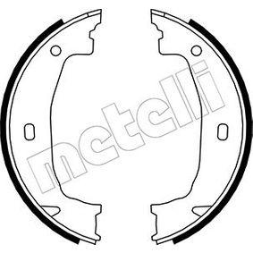 Brake Shoe Set, parking brake Ø: 160,0mm, Width: 20mm, Ø: 160,0mm with OEM Number 34416761291