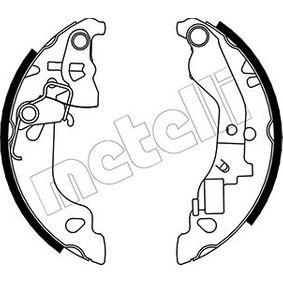 Brake Shoe Set 53-0079Y PUNTO (188) 1.2 16V 80 MY 2006