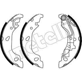Brake Shoe Set 53-0080Y PUNTO (188) 1.2 16V 80 MY 2000