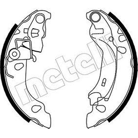 Brake Shoe Set 53-0083 PANDA (169) 1.2 MY 2014