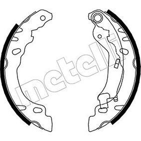 Brake Shoe Set 53-0090 PANDA (169) 1.2 MY 2014