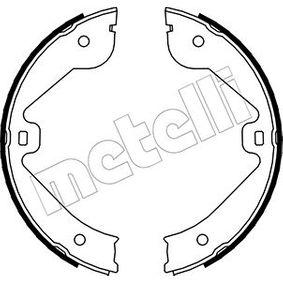 Комплект спирачна челюст, ръчна спирачка 53-0244 M-класа (W164) ML 320 CDI 3.0 4-matic (164.122) Г.П. 2007