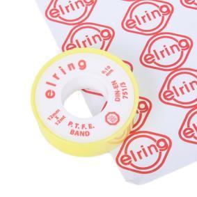Seam sealers ELRING 498.701 for car (EN 751/3, Reel, 12mm, 0,1mm, PTFE (polytetrafluoroethylene), White)