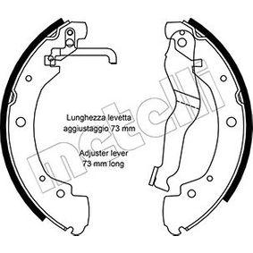 Bremsbackensatz Breite: 55mm mit OEM-Nummer 701 609 532 E